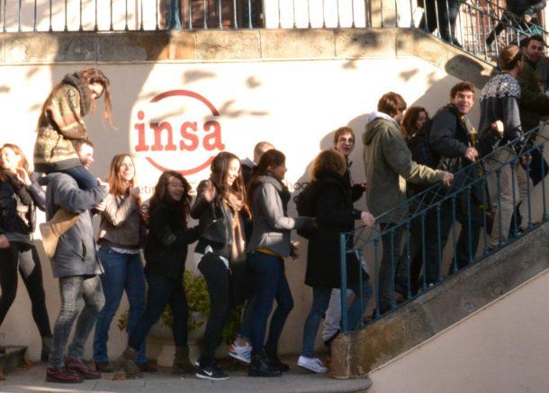 INSA students