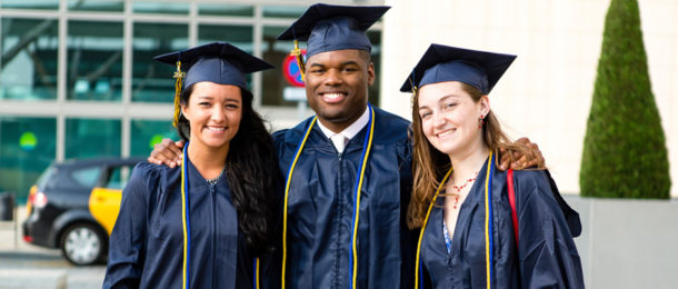 Students graduating from UIBS