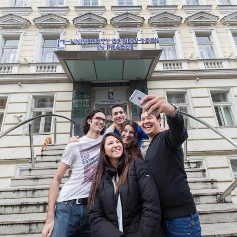 University of New York in Prague-campus