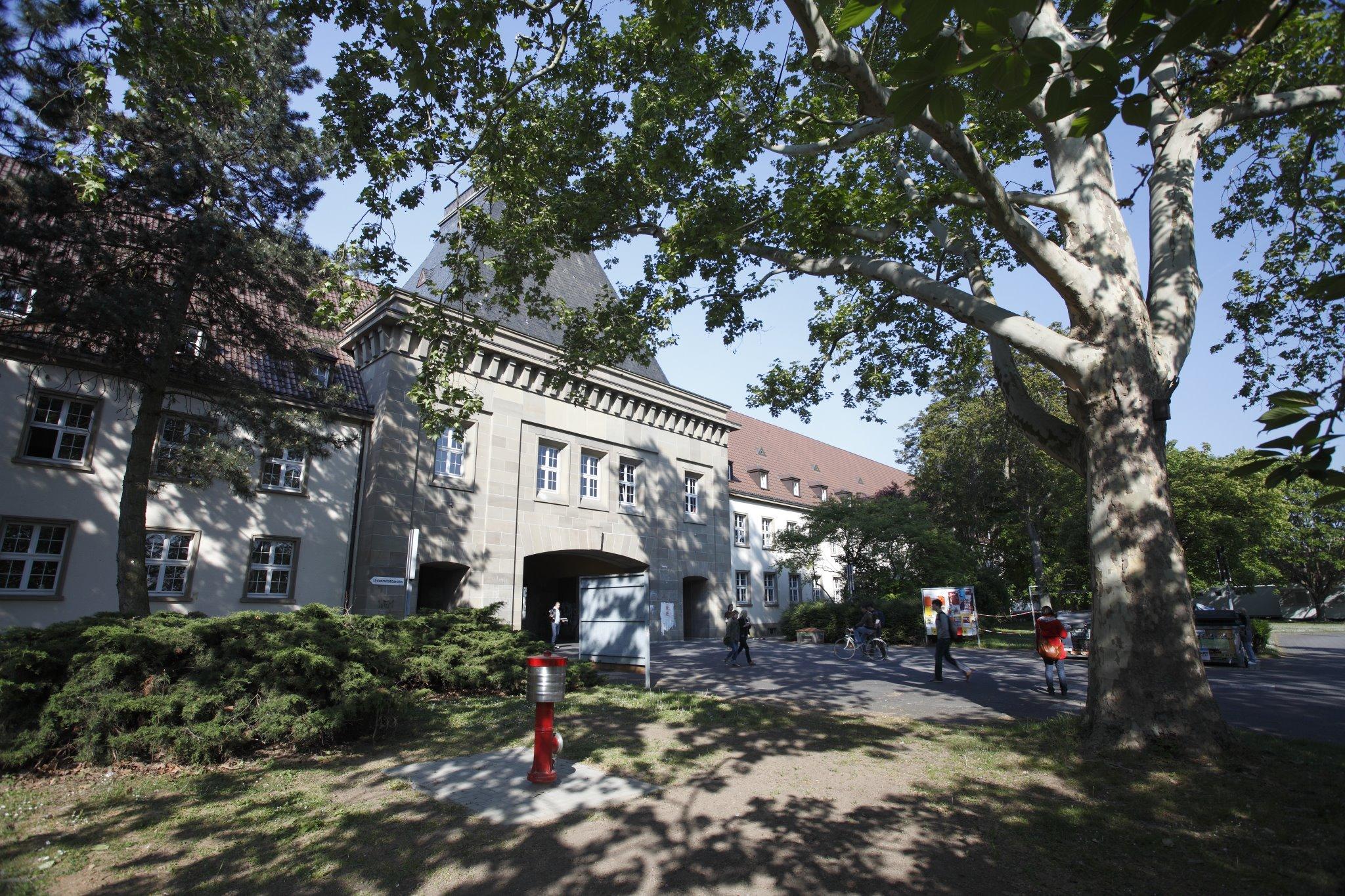 Johannes Gutenberg University Mainz Campus
