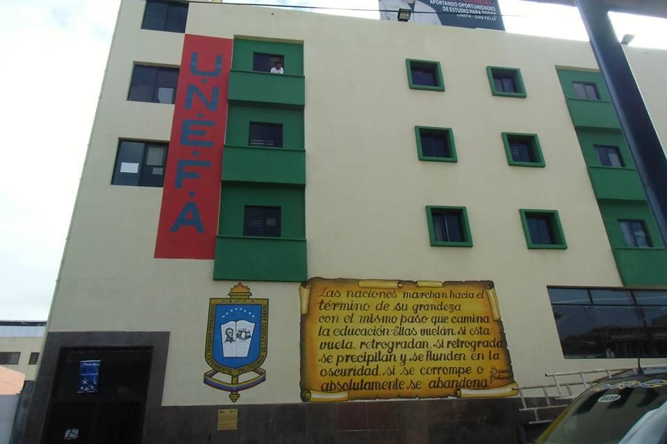 Universidad Nacional Experimental Politécnica de la Fuerza Armada Nacional - UNEFA Campus