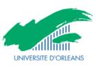 Université d'Orléans logo