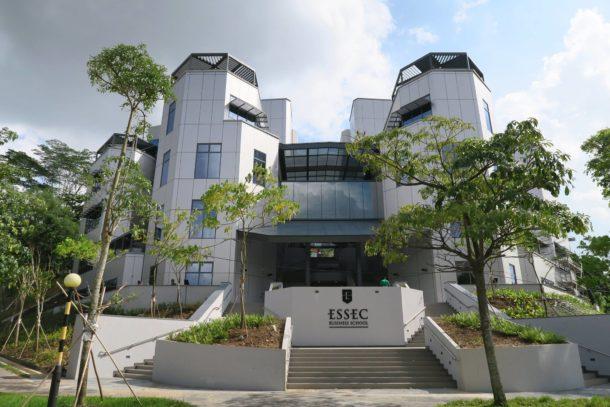ESSEC business school exterior