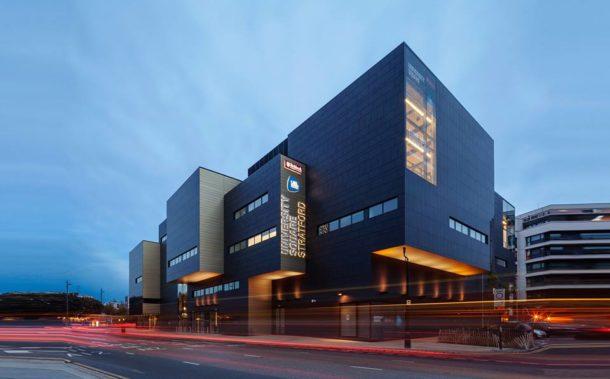 University of East London - UEL - campus