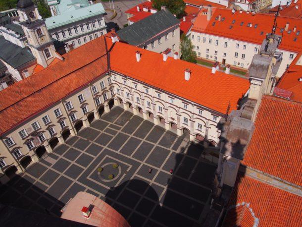 Vilinus University from above