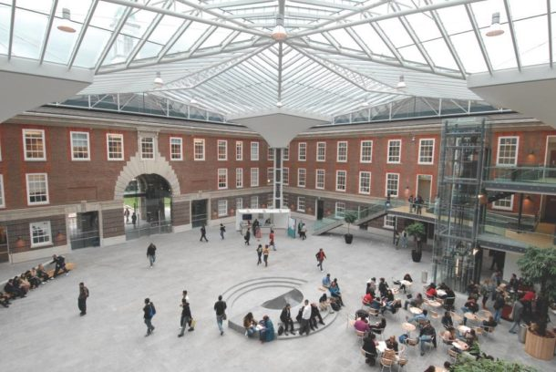 Middlesex University London - MDX - campus