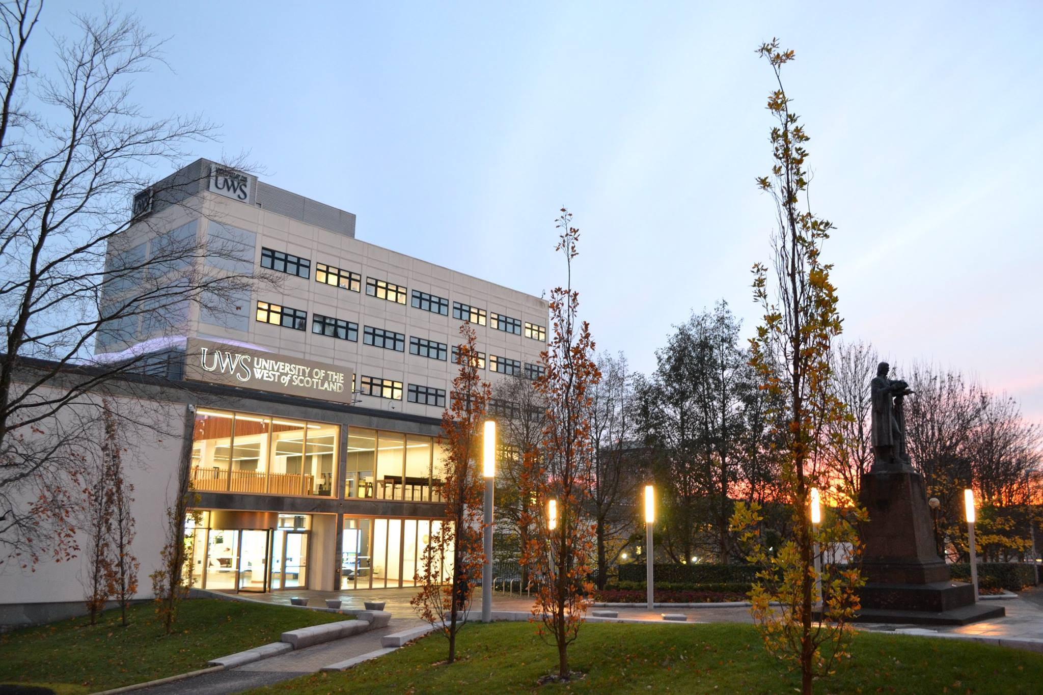University Of the West of Scotland  - UWS Campus