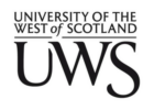 University Of the West of Scotland  - UWS logo