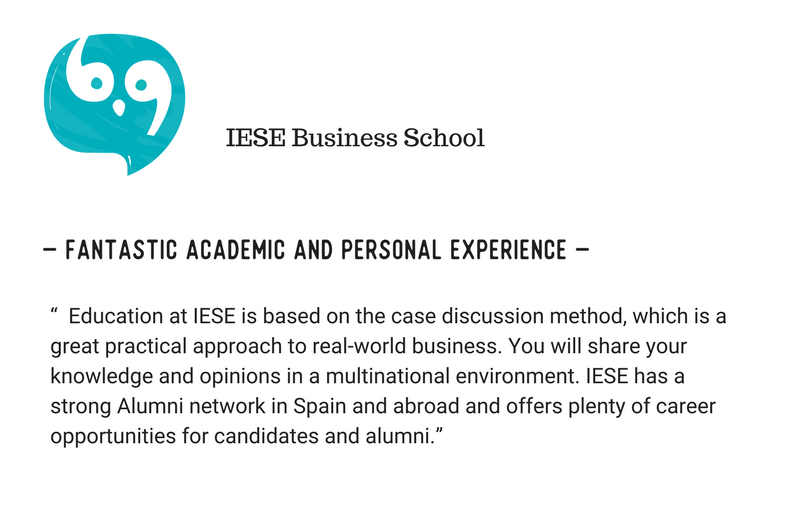 ESADE Business School Vs IESE Business School