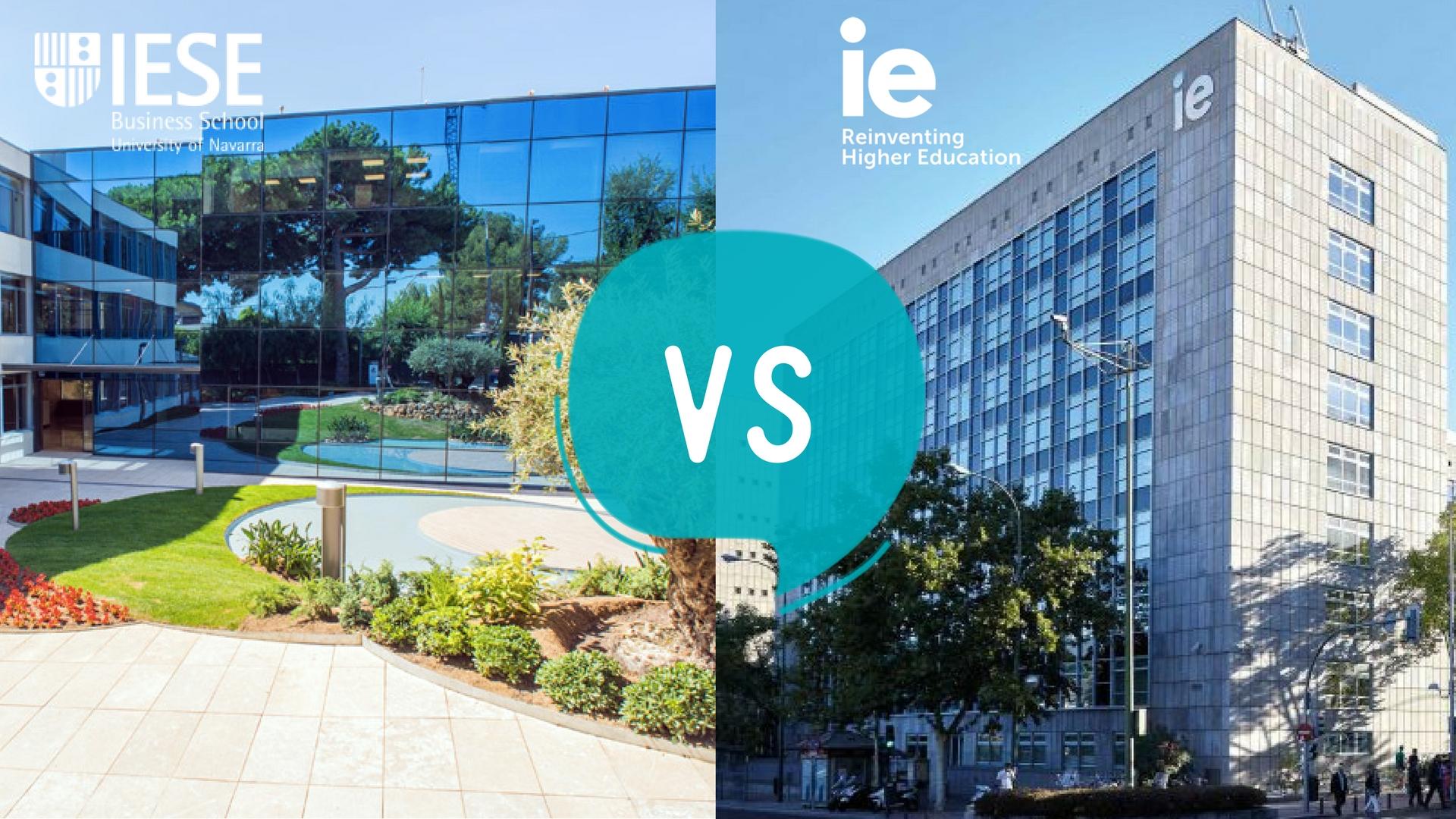 IESE Business School vs IE Uni...
