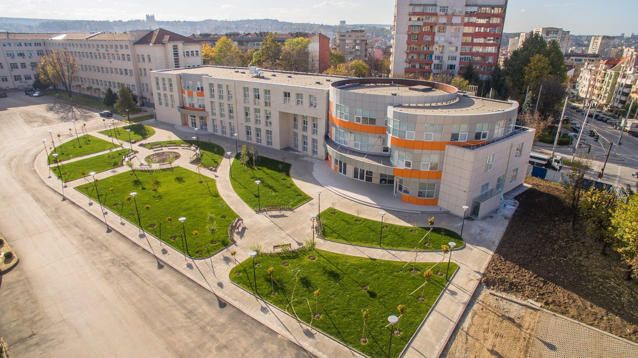 Medical University of Pleven – MUP Campus
