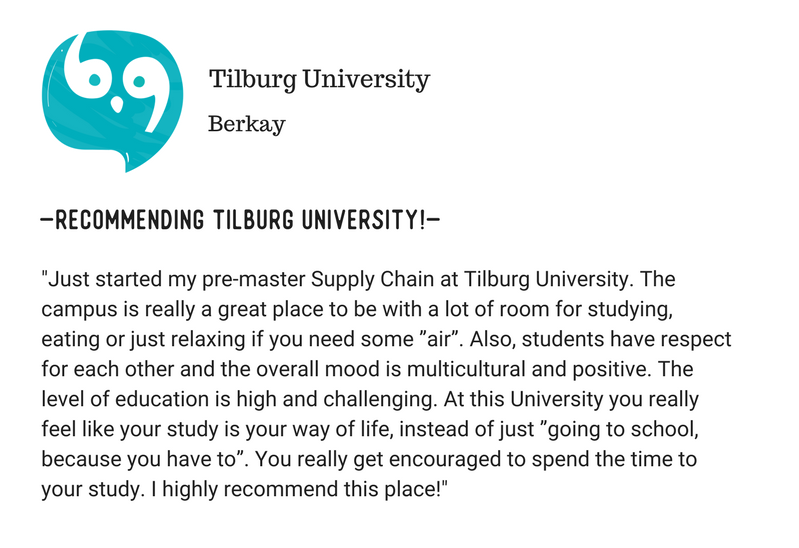 Studying at Tilburg University. What Do you Need to Know Opinion (2)