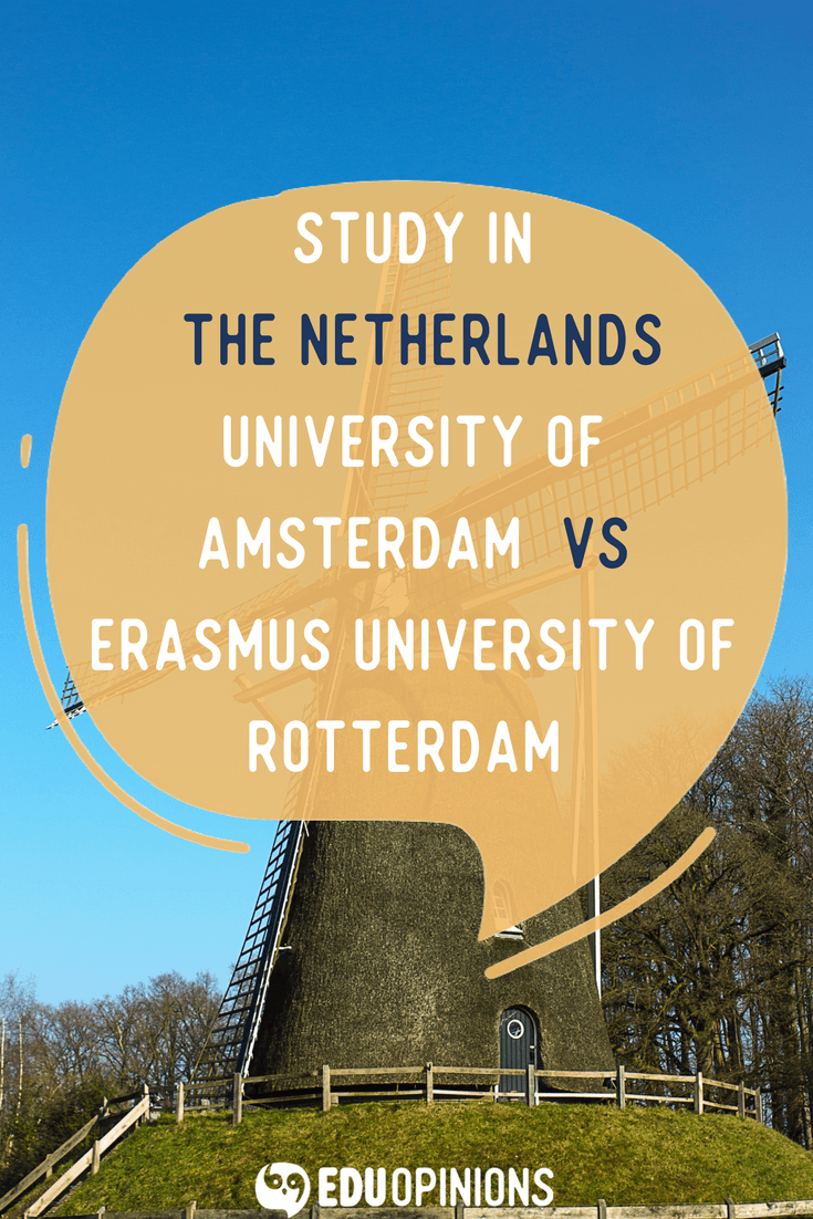 If you are thinking to study in The Netherlands this article is for you! We have compared two great institutions to give you insights of these are good places for you to study! Take a look, and if you liked it leave a comment or your opinion about your university :) Real students opinions