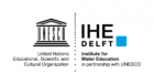 IHE Delft Institute for Water Education logo