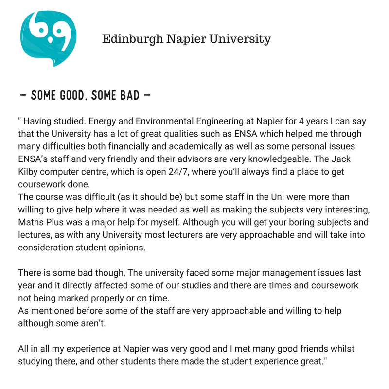 All you need to know about Edinburgh Napier University
