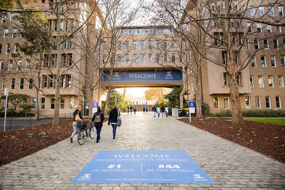 The University of Melbourne - UoM Campus