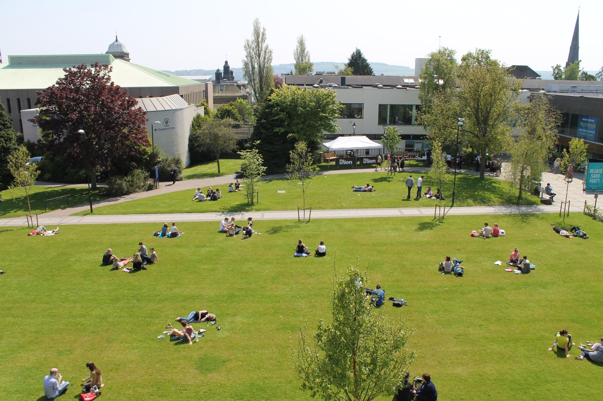 University of Dundee Campus
