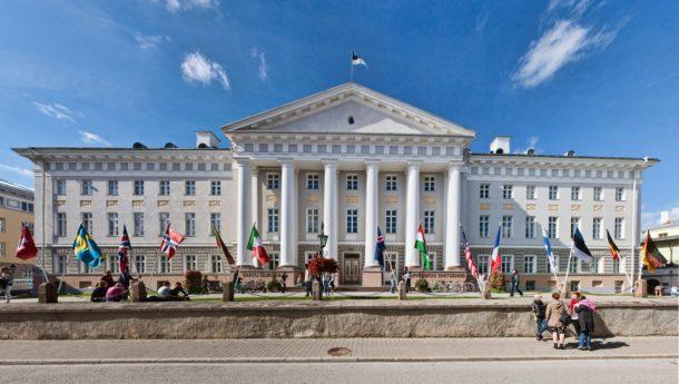 Tartu university - exterior
