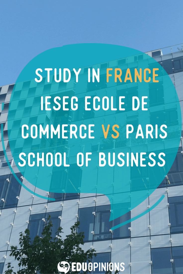 If you are thinking to study in France this article is for you! We have compared two great institutions in Paris to give you insights of these are good places for you to study! Take a look, and if you liked it leave a comment or your opinion about your university :) Real students opinions