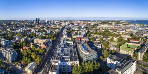 Outside picture of Tallinn University