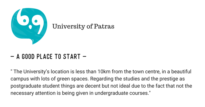 University of Crete (UOC) Vs University of Patras