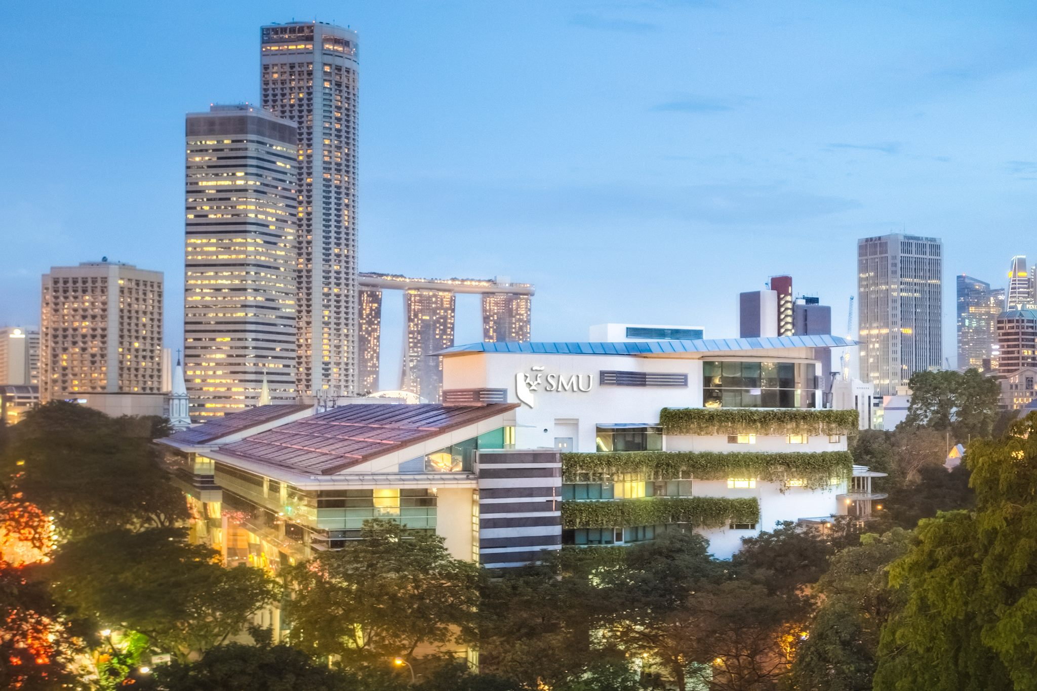Lee Kong Chian School of Business - SMU Campus