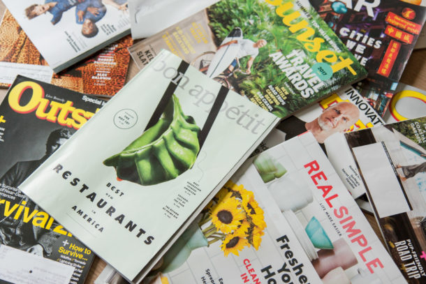 Magazine marketing