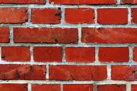 Wall of bricks. Is is better to study online or at a location?