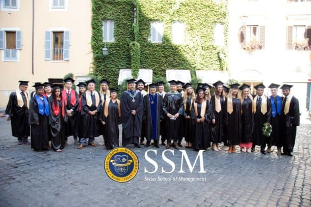 Students graduating from SSM
