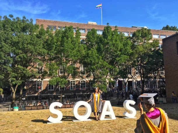 SOAS University of London-campus