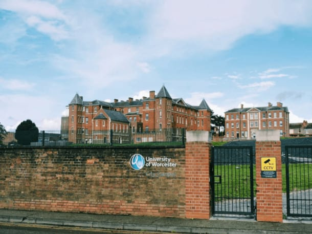 study in the UK - Worcester