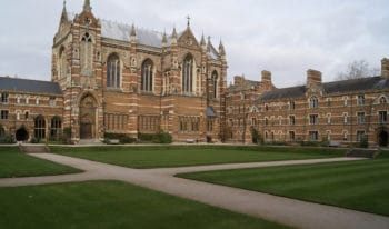 University of Oxford Exterior