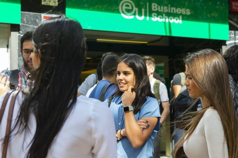 EU Business School - students