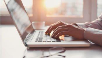 Online MBA - laptop