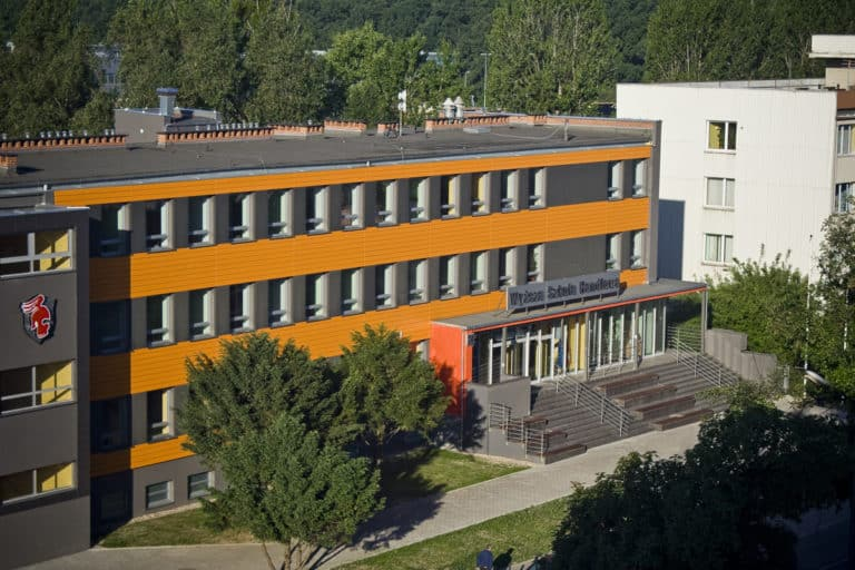 University of Business in Wroclaw - campus
