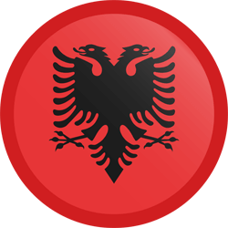 Albania's flag